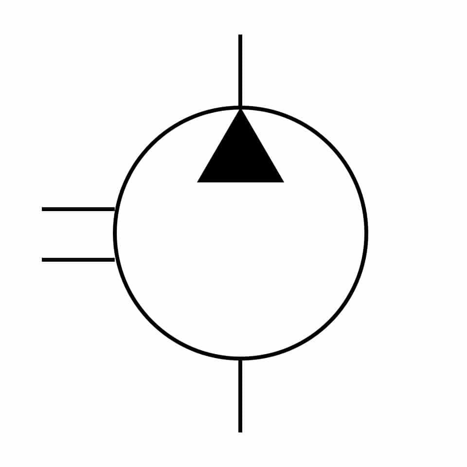 PFBA-02 Product Symbol | Oilgear