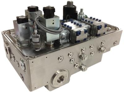 Oilgear_Hydraulic_ROV_Titanium_Manifold